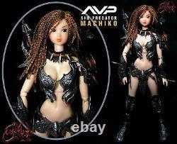 Aliens vs Predator AVP She Predator Machiko 1/6 CustomOOAK Hot Toys Momoko Volks