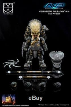 Authentic Brand New Herocross Action Figure Scar Predator from Alien vs Predator