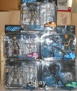 Avp Alien Vs Predator Takara Microman Complete 5 Figure Set