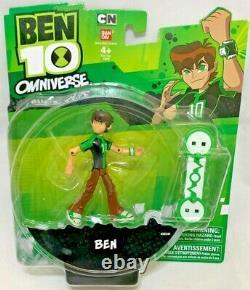 BANDAI Cartoon Network BEN 10 Omniverse Aliens Action Figure Collection set x10