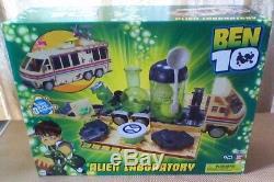 Bandai BEN 10 ALIEN LABORATORY Original Grandpa Max RV Rust Bucket-NEW & RARE