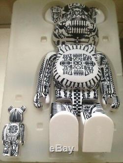 Be@rbrick 400% H. R. Giger Alien Creator Basquiat Mickey bearbrick