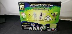 Ben 10 Alien Force CANNONBOLT GWEN ANODITE DNALIEN 4 3-pack Bandai 2010 Sealed