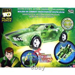 Ben 10 Alien Force Vehicle Kevin's Cruiser (Clear Edition)