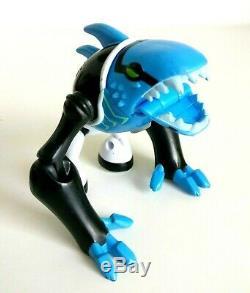 Ben 10 Ultimate Alien Articguana Collectable Action Figure Bandai Exclusive