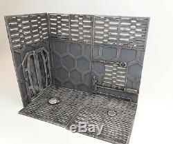 Custom Diorama Base/Walls for detolf. Neca, Marvel Legends, Black Series