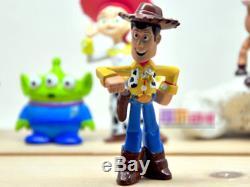 Cute Toy Story Figure Woody Buzz Jessie Bulleye Alien Toy Figures 5pcs set