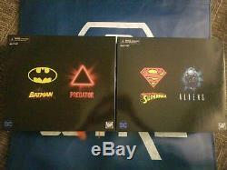 DC/Dark Horse NECA SDCC 2019 Batman vs Predator & Superman v Alien (2pk bundle)