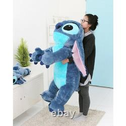 Disney Lilo Stitch 47in Lying Plush Toy Stuffed Animal Character Giant Doll Gift