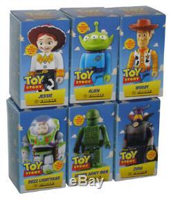 Disney Pixar Toy Story Medicom Kubrick Figure Set Alien / Jessie / Woody / Zu