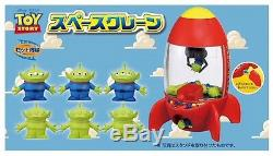 Disney Toy Story TAKARA Space Crane Little Green Alien Electric Claw Machine JP