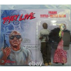 Distinctive Dummies They Live Frank & Tittle-Tattle Alien 1/9 Scale Action Figs