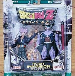 Dragon Ball Z GT Super Alien Invasion King Cold Ultra Trunks Jakks Figuarts