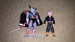 Dragon Ball Z Jakks Pacific King Cold and Trunks Alien Invasion two pack