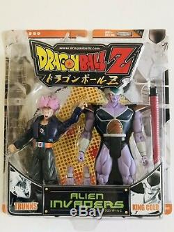 Dragonball Z Alien Invaders Trunks And King Cold Action Figure 2-Pack
