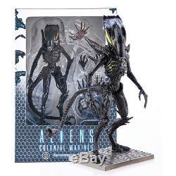 Four Hiya Toys 118 Aliens Colonial Marines Xenomorph Warrior Free Shipping