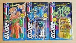GI JOE 1994 Star Brigade Aliens Set- Carcass, Lobotomaxx, Predacon lot- MOC