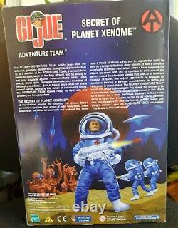 GI Joe Adventure Team Secrets Of Planet Xenome 12 Red Alien & Astronaut -NIB