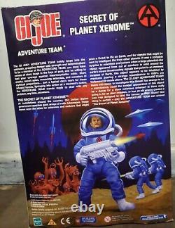 GI Joe Adventure Team Secrets Of Planet Xenome 12 Yellow Alien & Astronaut -NIB