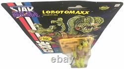 GI Joe Star Brigade Lunartix Empire Alien Lobotomaxx 1993 Action Figure NEW MOSC