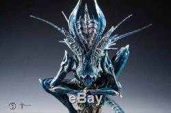 Gene Studio Alien Ultra Xenomorph Queen Custom-made Statue With Breathing Light