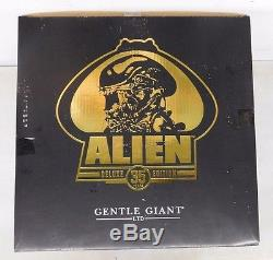 Gentle Giant Deluxe 35 Years Edition JUMBO ALIEN GOLD Action Figure NIP