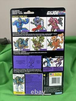 Gi Joe Predacon Brigada Espacial Mexico Red Rare 1994 Hasbro 3.75 New