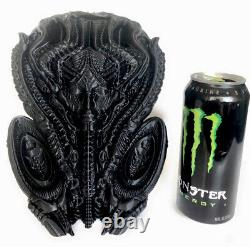 H. R Giger Inspired Alien Mother Wall Statue Figure Black