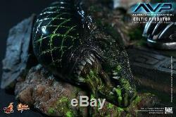 HOT TOYS Alien vs. Predator AVP Celtic Predator 2.0 14 Figure IN STOCK
