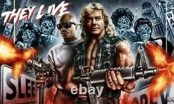 Hallzys Customs They Live Action Figure Set Custom Roddy Piper NECA Aliens Obey