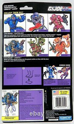 Hasbro G. I. Joe ARAH Battle Corps Star Brigade Aliens Predacon MOC rare