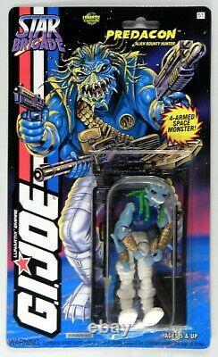 Hasbro G. I. Joe ARAH Battle Corps Star Brigade Aliens Predacon MOC rare 1994
