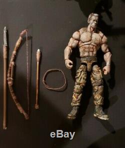 Hiya Aliens vs predator Dutch Schaefer Scale 3.75 1/18 custom MTF joytoy