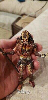 Hiya Aliens vs predator Scale 3.75 1/18 custom female hunter MTF joytoy