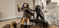Hiya Aliens vs predator Scale 3.75 1/18 custom machiko noguchi MTF joytoy