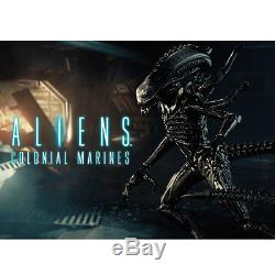 Hiya Toys 118 Aliens Colonial Marines Xenomorph Warrior Lurker Action Figure