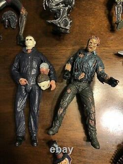 Horror movie action figure lot Neca Halloween Jason Freddy Aliens