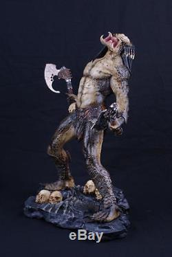 Hot! 14 Predator Alien PREDALIEN 1/5 Scale Painted Resin Figure Statue Toy