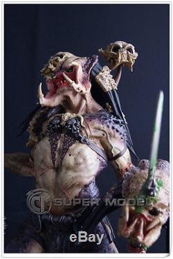 Hot! Predator Alien PREDALIEN 1/5 Scale Painted Resin Figure Model Statue Toy