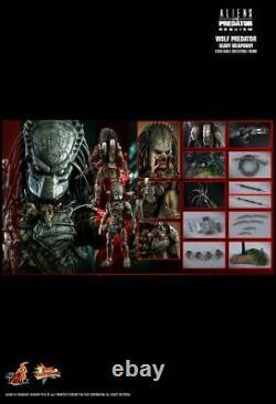 Hot Toys 1/6 Alien Vs Predator AVP Requiem Wolf Predator Heavy Weaponry MMS443