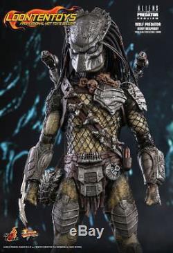 Hot Toys Wolf Predator Heavy Weaponry 1//6 Scale Aliens VS Predator Requiem AVPR