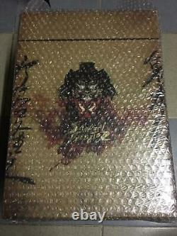 Hot Toys AC 01 AVP Samurai Predator (Takeya x Oniki) 14 inch Action Figure USED