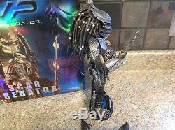 Hot Toys AVP Alien vs Predator Scar Predator MMS09 (US Seller)