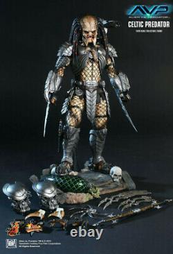 Hot Toys AVP Celtic Predator 2.0, 1/6 Scale 12 Figure (MMS221) US SELLER