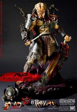 Hot Toys AVP SAMURAI PREDATOR 1/6 12 Alien Vs Action Figure Statue Sideshow