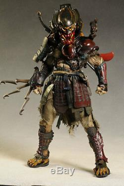 Hot Toys AVP SAMURAI PREDATOR 1/6 figure RARE Alien vs predator BRAND NEW SEALED