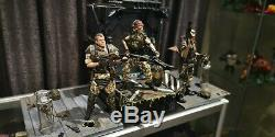 Hot Toys Alien Marines Vasquez, Hicks, Hudson, Apone And Diorama