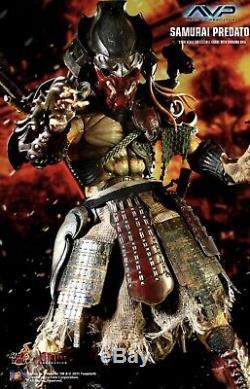 Hot Toys Alien Vs Predator Samurai Predator 1/6 Figure