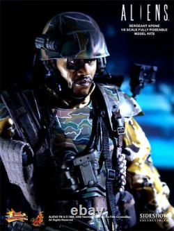 Hot Toys Aliens Movie SERGEANT APONE MMS 04 16 Scale Figure Collectors Edition