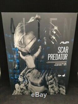 Hot Toys MMS 190 Alien VS Predator 2 Scar Predator Action Figure